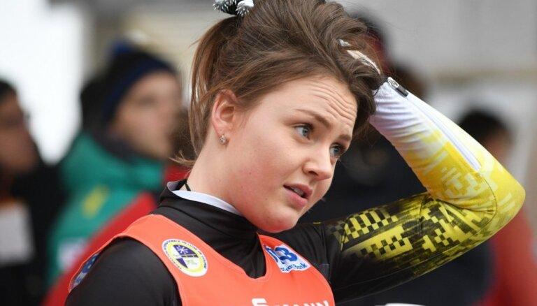 Latvijas kamaniņu braucēji PČ noslēdz ar septīto vietu komandu stafetē