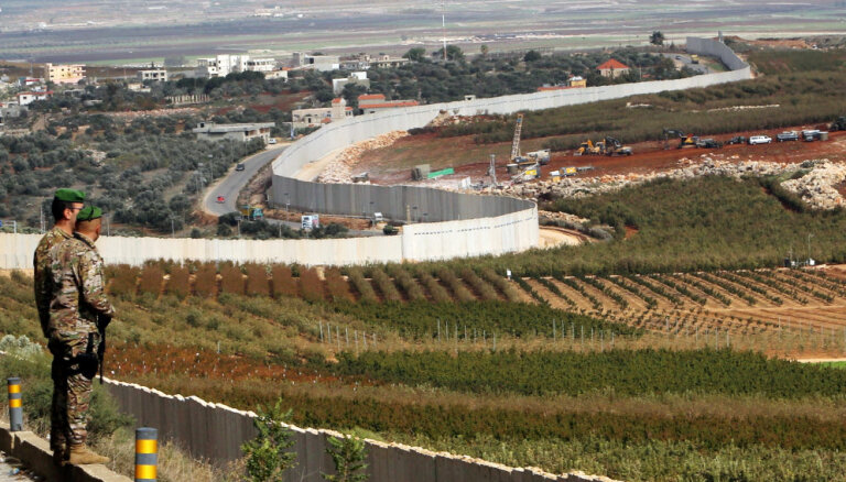 Kartes: Izraēla likvidē divus pazemes tuneļus no Libānas