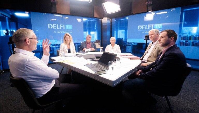 'Delfi TV ar Jāni Domburu' atbild JRT rekonstrukcijas projekta autori un būvnieki. Pilns ieraksts