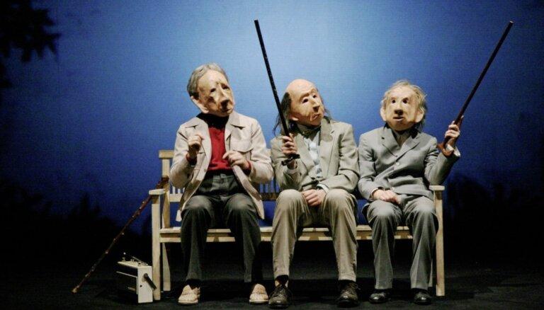 Noslēdzies konkurss par vācu teātra trupas 'Familie Flöz' uzvedumu 'Infinita'
