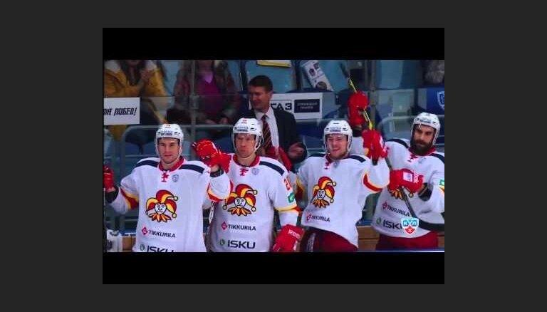 Labots KHL gūto vārtu rekords