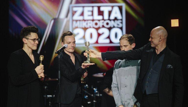 'Zelta mikrofona' ceremonijā ar četrām balvām triumfē 'Instrumenti'