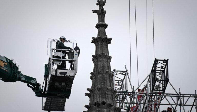 Parīzes Dievmātes katedrāle tiks atjaunota iepriekšējā veidolā