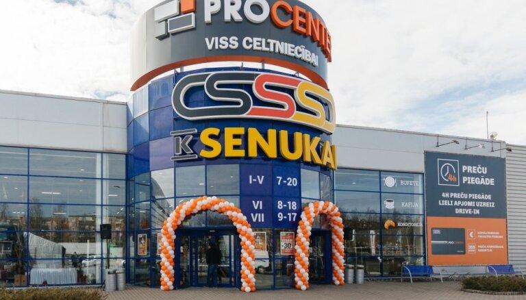 Rīgā atvērts pirmais lielākais būvniecības preču veikals 'K Senukai Procenter'