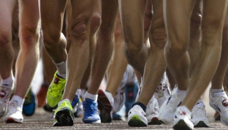 Saulgriezis un Ignate Alītā uzvar Latvijas čempionātā 20 kilometru soļošanā