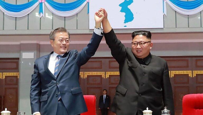 Dienvidkorejas prezidents vēlas ceturto samitu ar Kimu Čenunu