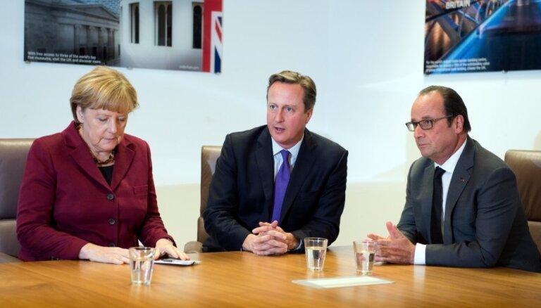 Kamerons Lielbritānijas prasības ES reformām atklāšot novembrī
