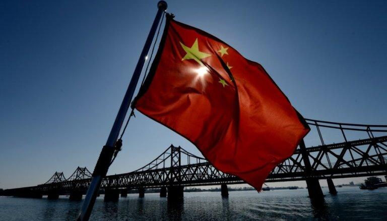 Ķīna īsteno auksto karu pret ASV, norāda CIP amatpersona
