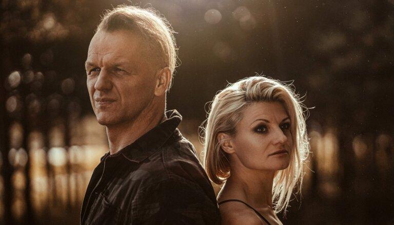 Noklausies! Juris Kaukulis un Laura Leontjeva vienojas dziesmā 'Saulrieta melanholija'