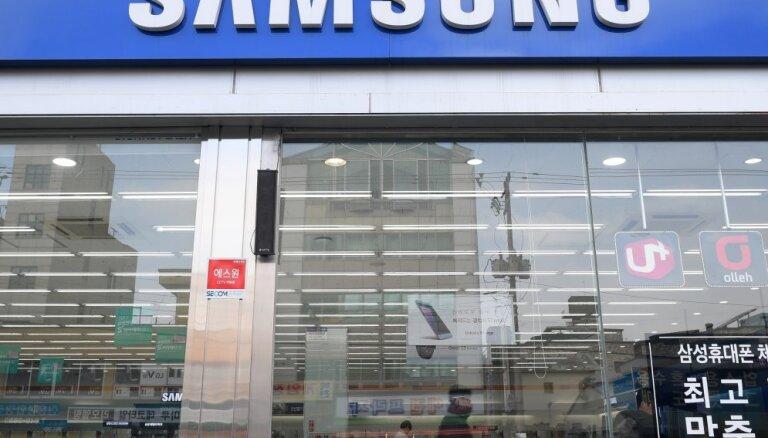 'Samsung' īpašnieki mantinieku nodoklī samaksās rekordlielu summu
