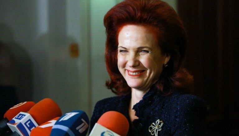 ФОТО: Солвита Аболтиня удивила новой прической
