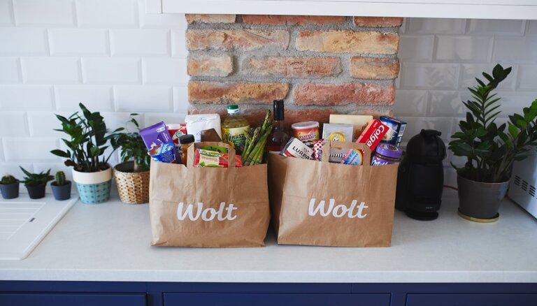 Закажи продукты в Wolt – это быстро и удобно!