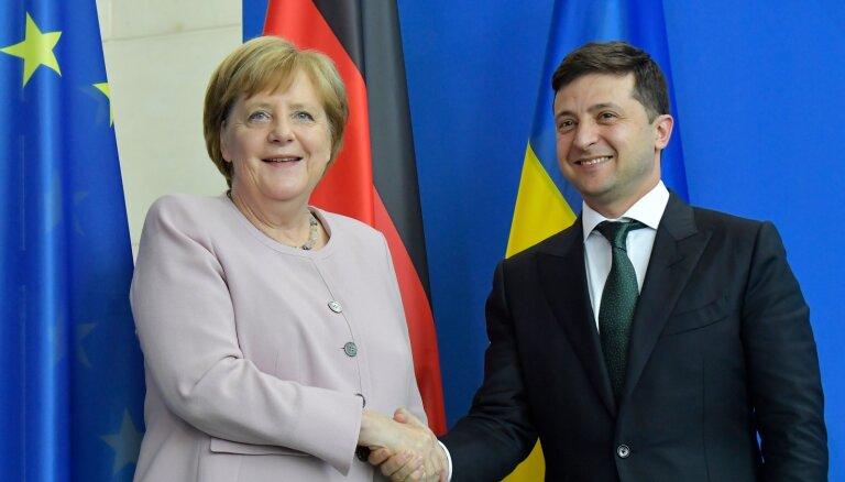 Зеленский в Берлине: что обсуждал украинский лидер на встрече с Меркель