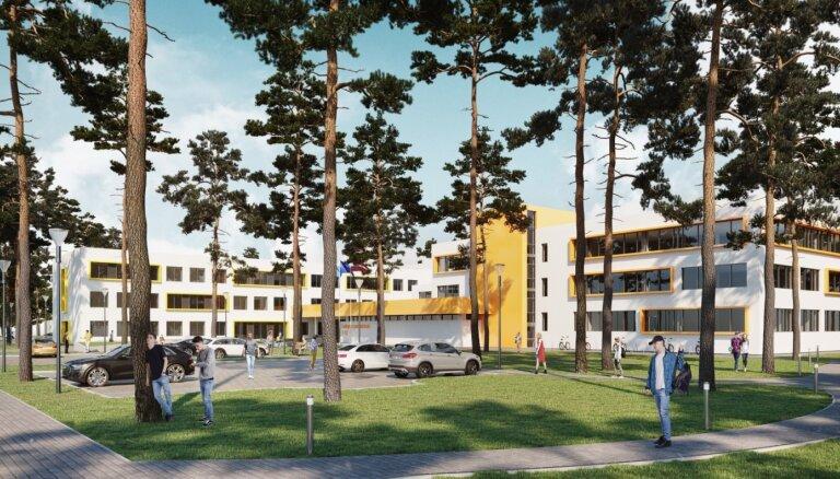Lielupes pamatskolas ēkas pārbūve un sporta zāles būvniecība izmaksās 11,25 miljonus eiro