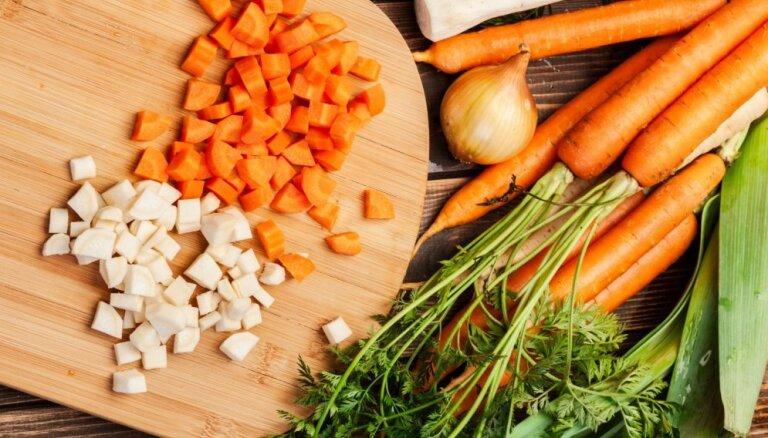 Чья очередь в суп? Сколько варятся овощи