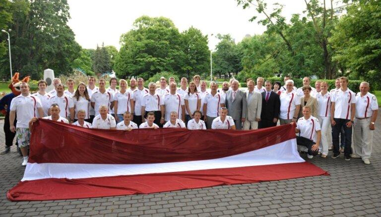 Londonas Olimpiādes atklāšanas ceremonijā piedalīsies 26 Latvijas olimpieši