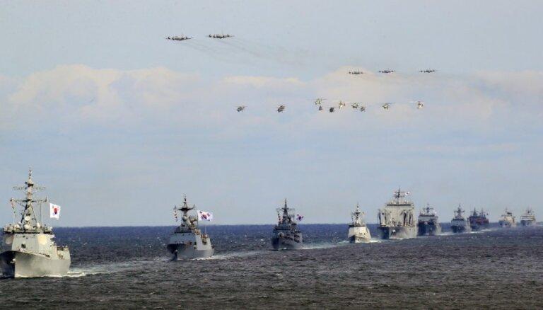 Dienvidkoreja apsūdz Japānu militārā provokācijā