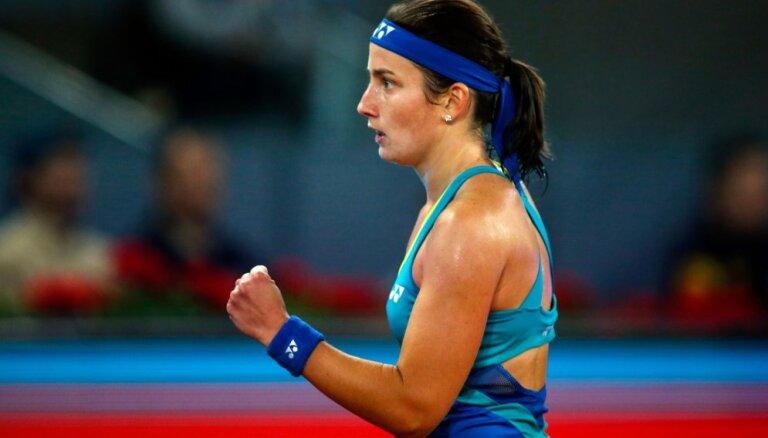 Sevastova un Pavļučenkova atsakās no Romas WTA turnīra dubultspēļu otrās kārtas mača