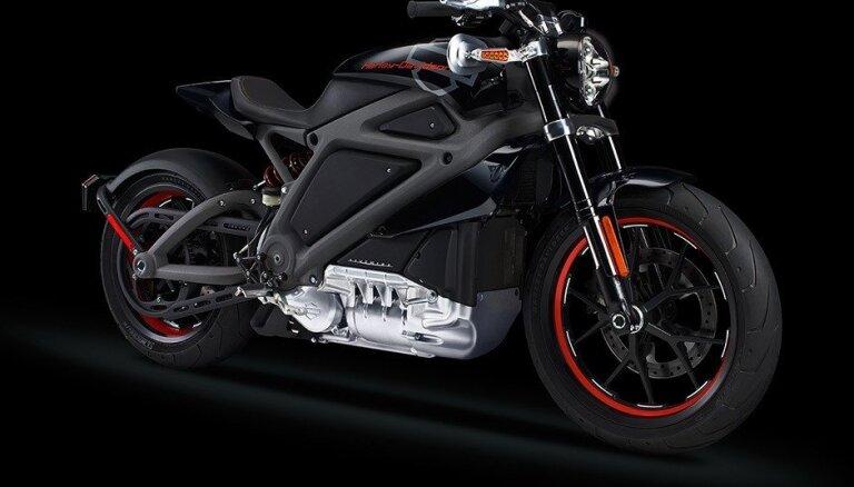 'Harley-Davidson' pirmais motocikls ar elektromotoru