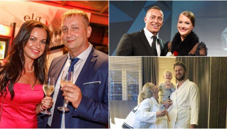 Bildinājumi, bēbīši un šķiršanās: kā slaveniem latviešiem šogad veicas mīlestībā