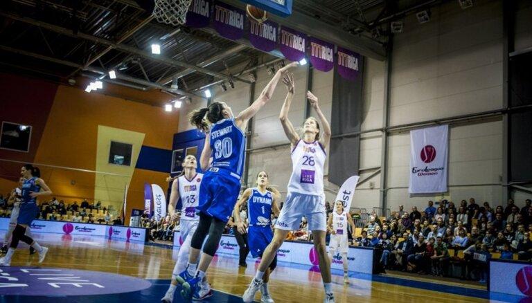 'TTT Rīga' līdzīgā cīņā FIBA Eirolīgas spēlē piekāpjas 'zvaigžņotajai' Kurskas 'Dinamo'