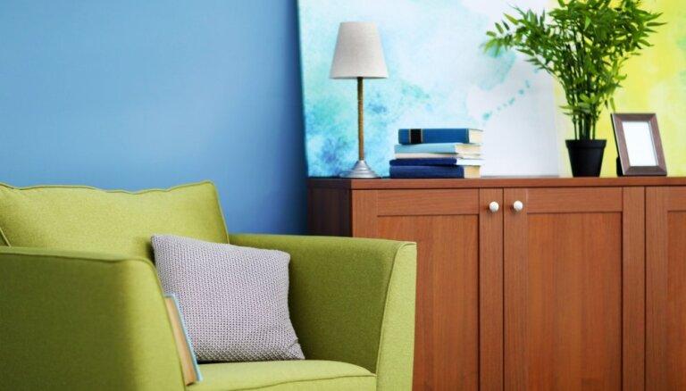 2017. gada krāsa – salātzaļais; dizaineres ieteikumi toņa iekļaušanai interjerā