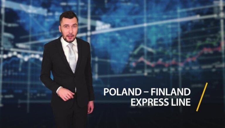 Rīgas ostā darbu uzsāk jauna konteinerpārvadājumu līnija 'Poland-Finland Express'