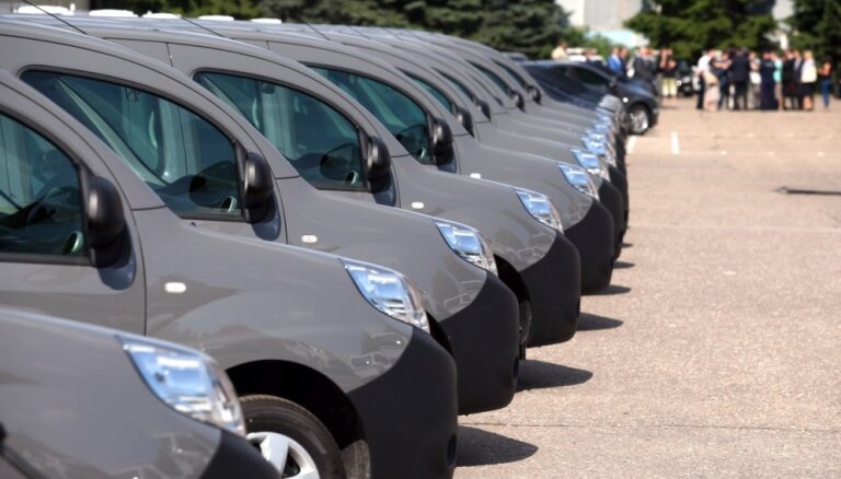Latvijā pērn straujāks jaunu auto reģistrācijas pieaugums par ES vidējo