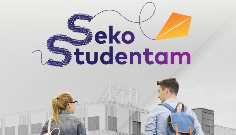 Seko studentam un iepazīsti mācības un sadzīvi RTU