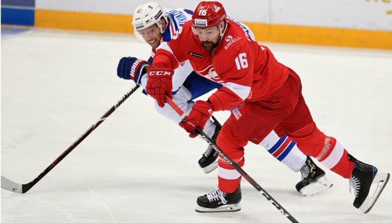Daugaviņš atsācis treniņus kopā ar 'Spartak' komandu