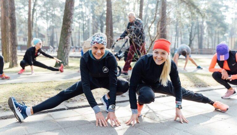 'Lattelecom' Rīgas maratons aicina skrējējus uz noslēdzošo koptreniņu AB dambī