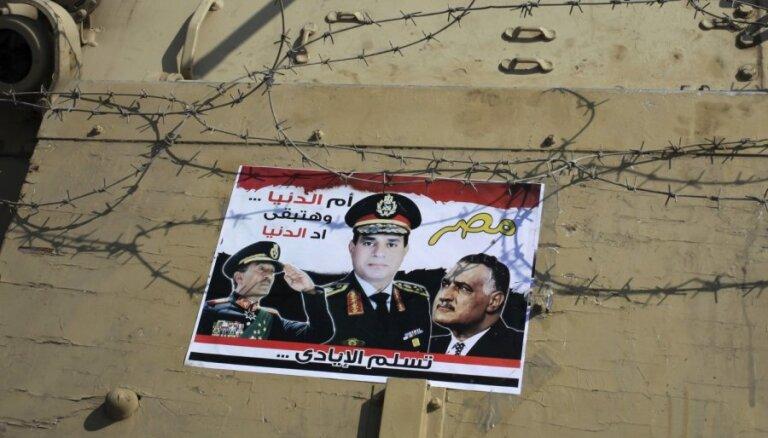 Policijas un Mursi atbalstītāju sadursmēs Ēģiptē pussimts bojāgājušo