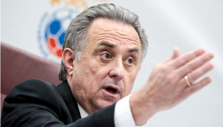 Mutko atkāpjas no Krievijas Futbola federācijas prezidenta amata