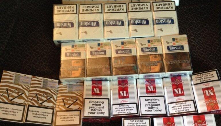 Trīs mēnešos par nelegālu akcīzes preču apriti sākti 127 kriminālprocesi