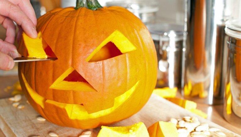 Kā izgrebt spocīgu ķirbja dekoru un piešķirt mājoklim Helovīna cienīgu noskaņu