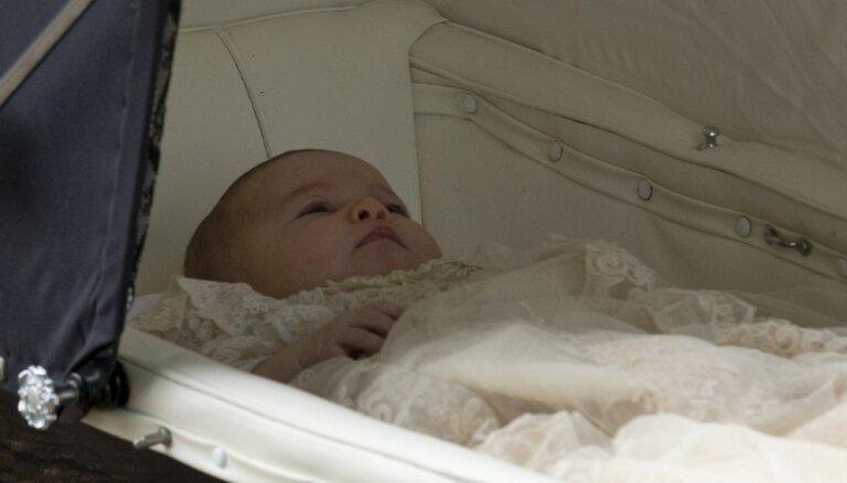 ФОТО, ВИДЕО: В Англии крестили принцессу Шарлотту