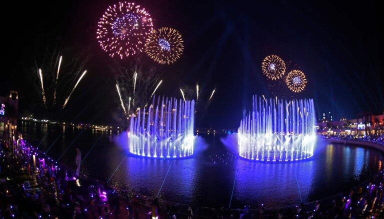 ВИДЕО: В Дубае заработал крупнейший в мире фонтан