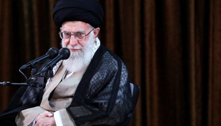Tramps ir apkaunojis ASV prestižu, uzskata Irānas līderis