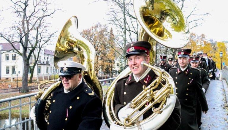 Foto: Lāčplēša diena Rīgā aculiecinieka acīm