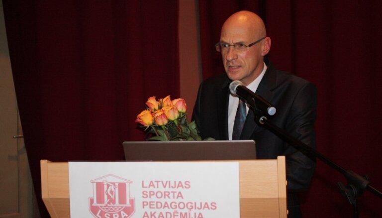 Par LSPA rektoru ievēlēts profesors Juris Grants