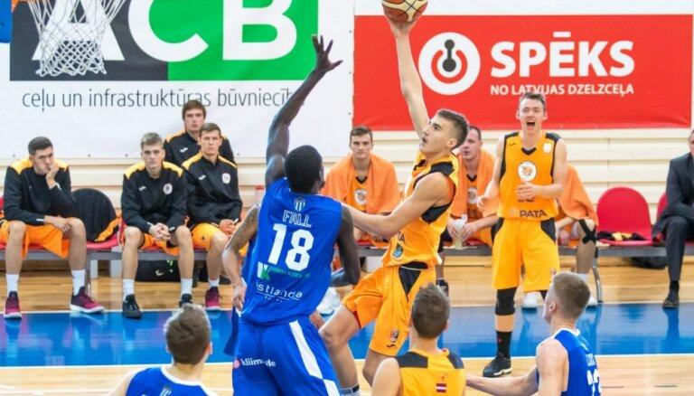'Jēkabpils'/'SMScredit.lv' basketbolisti kapitulē 'Kalev'/TLU komandai savā pirmajā apvienotā čempionāta spēlē
