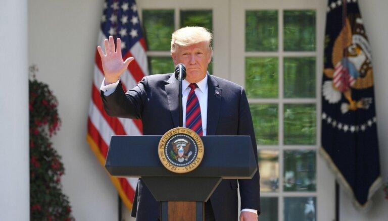 Tramps cer izvairīties no kara ar Irānu