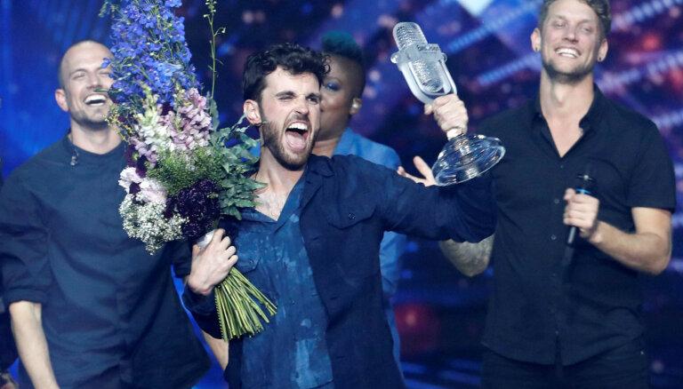 'Eirovīzijā' Telavivā šogad triumfē Nīderlande