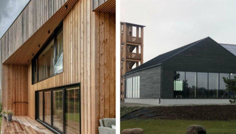Foto: 2019. gada labākās koka ēkas Igaunijā