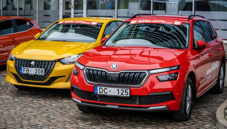 Nosaukti 'Latvijas Gada auto 2020' titulu ieguvēji