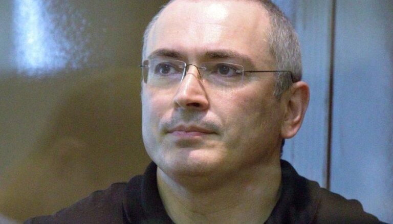Ходорковского выдвинули на премию Сахарова
