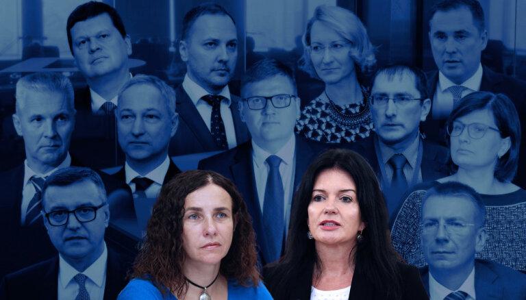 'Delfi TV ar Jāni Domburu' pulksten 16 un 18 atbildēs jaunās valdības 'visnoslēpumainākās' ministres