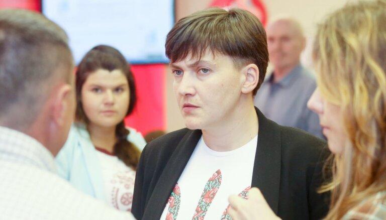 """Савченко обратилась с просьбой к Путину и попала в базу """"Миротворца"""""""