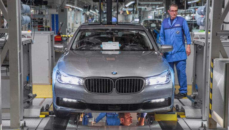 BMW piespriests 18 miljonu ASV dolāru naudassods par uzpūstiem noieta datiem