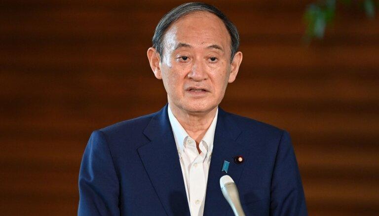 Премьер-министр Японии уходит в отставку. Одна из причин— Олимпиада в Токио
